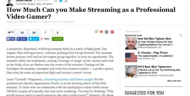 How Much Money Can You Make as a Professional Video Gamer