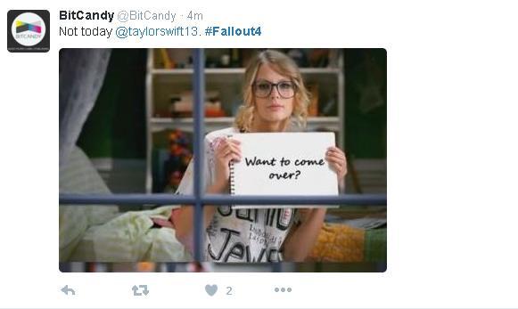 Fallout 4 - Taylor Swift